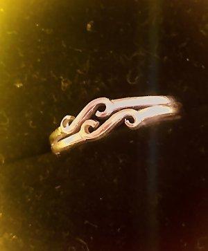 Gold & Gold Anello d'oro oro-bianco