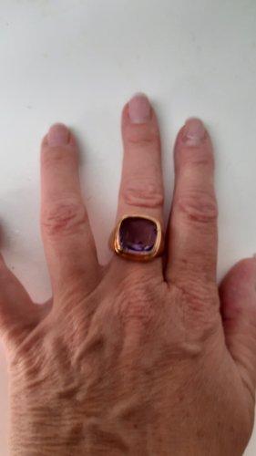 Juwelier Gouden ring goud-lila