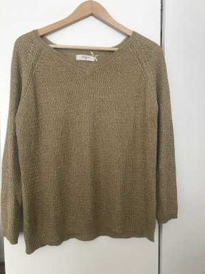 Goldschimmernder Pullover von Amichi