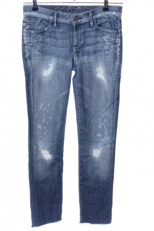 Goldsign 7/8 Jeans blau Street-Fashion-Look
