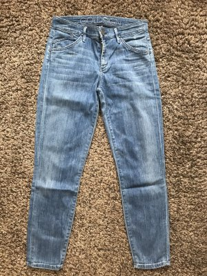 Goldsign Jeans slim bleu acier