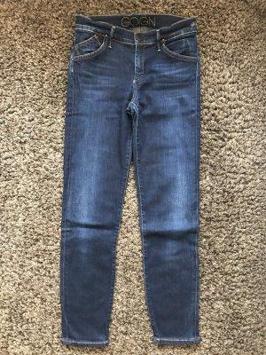 Goldsign Jeans skinny bleu foncé