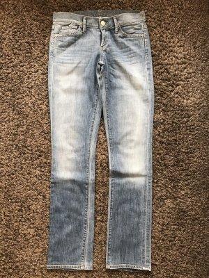 Goldsign Jeans coupe-droite bleu clair