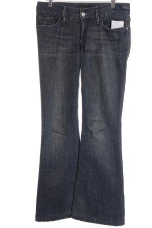 Goldsign Jeansschlaghose dunkelblau sportlicher Stil