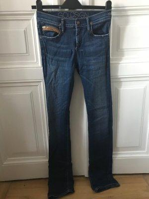 Goldsign Skinny Blue Jeans