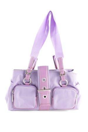 Handtasche lila Elegant
