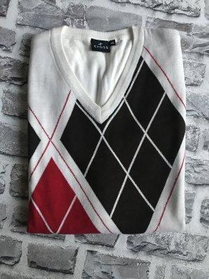 Cross Cardigan en maille fine multicolore