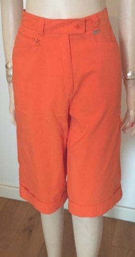Escada Bermuda arancio neon Poliestere