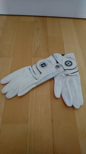Jj footwear Faux Leather Gloves natural white