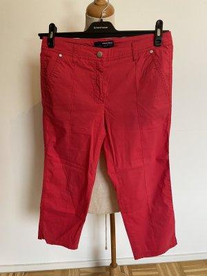 brax golf Pantalon 3/4 rouge