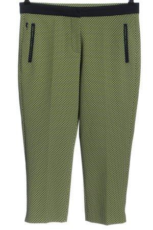 Golfino Pantalone a 3/4 cachi-nero stampa integrale stile casual