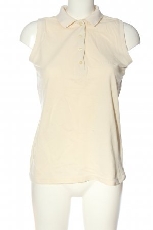 Golfino Kołnierzyk koszulowy w kolorze białej wełny W stylu casual