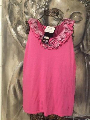 Golfino Camicia maglia rosa Viscosa