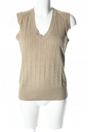Golfino Fine Knitted Cardigan natural white cable stitch casual look