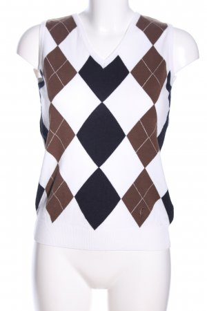 Golfino Fine Knitted Cardigan graphic pattern casual look
