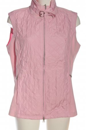 Golfino Fleeceweste pink Steppmuster Casual-Look