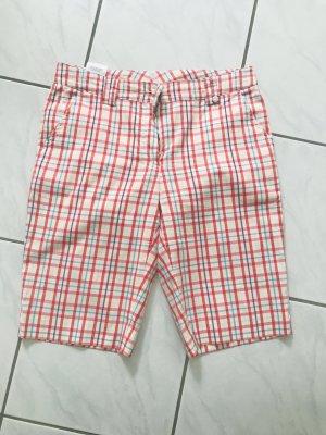 Golfino Shorts bianco-rosso Cotone