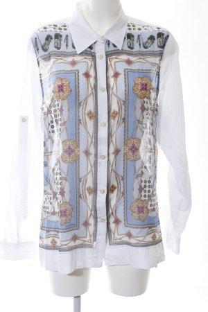 Golfino Camicia a maniche lunghe motivo astratto elegante