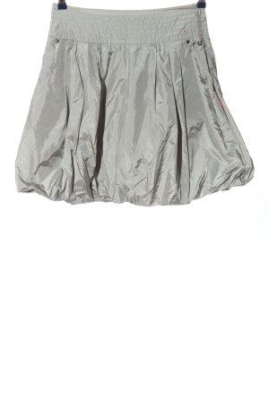 Golfino Minigonna grigio chiaro stile casual