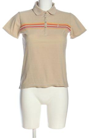 Golfino Polo motivo a righe stile casual