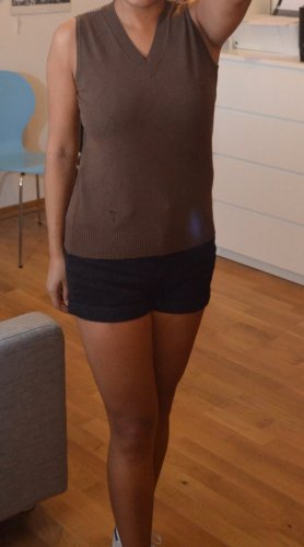 Golfino Fine Knitted Cardigan brown viscose