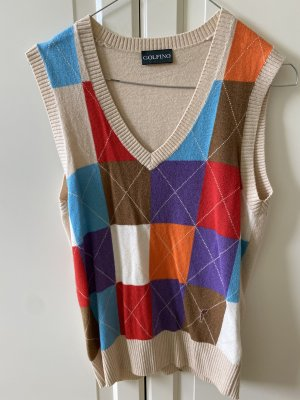Golfino Fine Knitted Cardigan multicolored