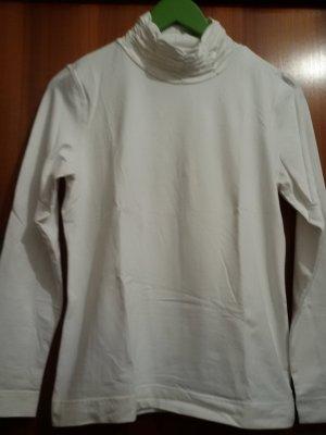 Golfino Maglione dolcevita bianco