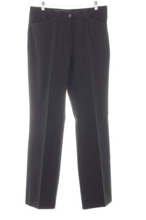 Golfino Pantalone a zampa d'elefante nero stile professionale