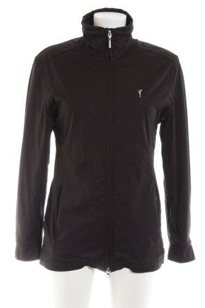 Golfino Softshelljacke schwarz Casual-Look