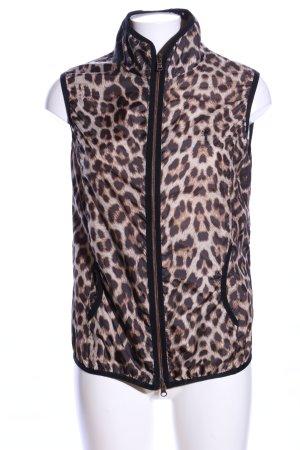 Golfino Gilet de sport motif léopard style décontracté