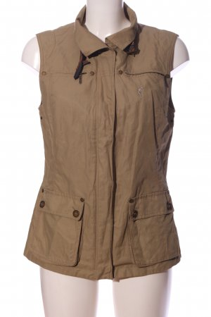 Golfino Sports Vests brown casual look