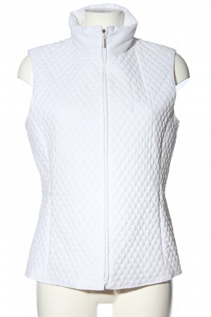 Golfino Sports Vests white quilting pattern casual look