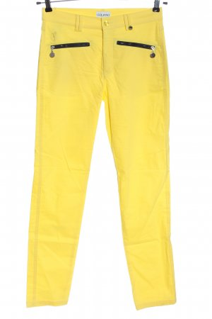 Golfino Jersey Pants primrose embroidered lettering casual look