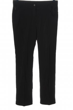 Golfino Pantalone jersey nero stile casual