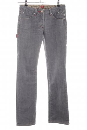 Golfino Straight-Leg Jeans hellgrau Casual-Look