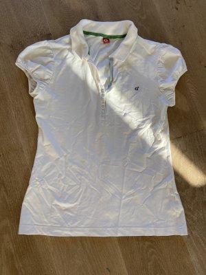 Golfino Camiseta tipo polo blanco
