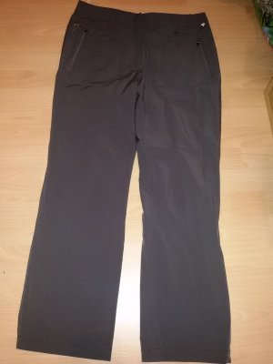 Golfino Spodnie termiczne brązowy-ciemnobrązowy
