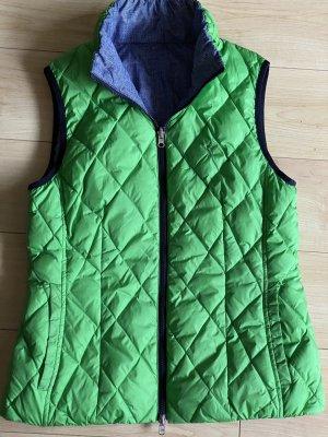Golfino Reversible Vest green-blue