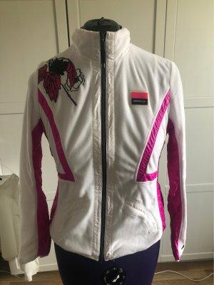 Sportalm Chaqueta deportiva blanco-rosa neón