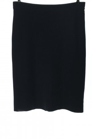 Golle Haug Knitted Skirt dark blue business style