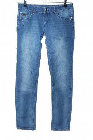 Good Morning Universe Skinny Jeans blau Casual-Look