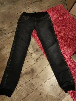 GOODIES ♥ Sehr coole Jeans! Bändel, Elastisch, fällt aus wie XS 34