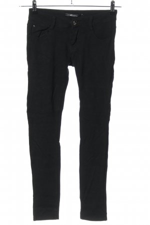 Goodies Pantalon strech noir style décontracté