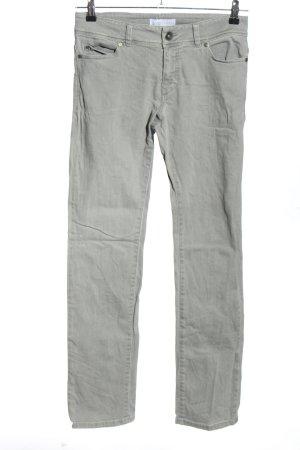 goodsociety Jeans vita bassa grigio chiaro stile casual