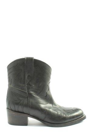 Goosecraft Western Boots black casual look