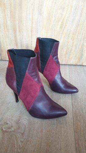 GORDANA DIMITRIJEVIC boots stiefel Bordeaux leder gr.38