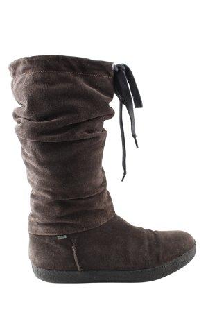 Gore Tex Absatz Stiefel braun Casual-Look
