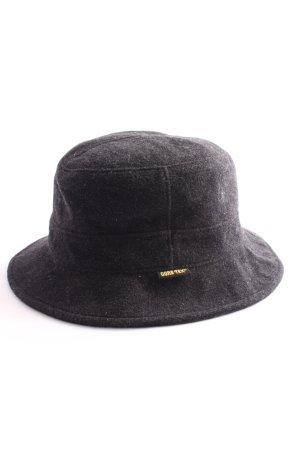 Gore Tex Chapeau en feutre noir style décontracté