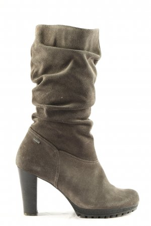 Gore Tex High Heel Stiefel khaki Casual-Look