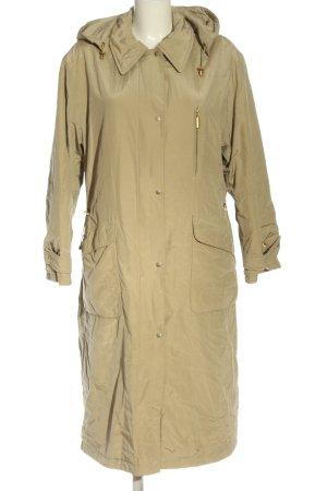 Gore Tex Manteau à capuche blanc cassé style décontracté